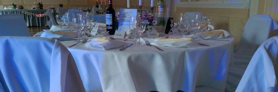 Goethe Vor-Saal – Tischdekoration