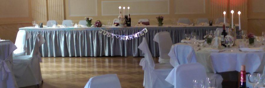 Goethe Vor-Saal – Brautpaartisch