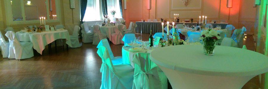 Goethe Vor-Saal – Hochzeitsvorbereitung