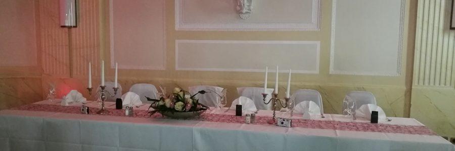 Hochzeit – Brauttisch im Goethe Saal